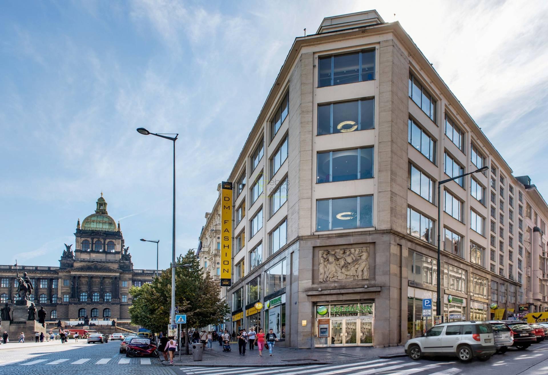 Obchodní prostory 42m2 - Václavské náměstí Praha 1