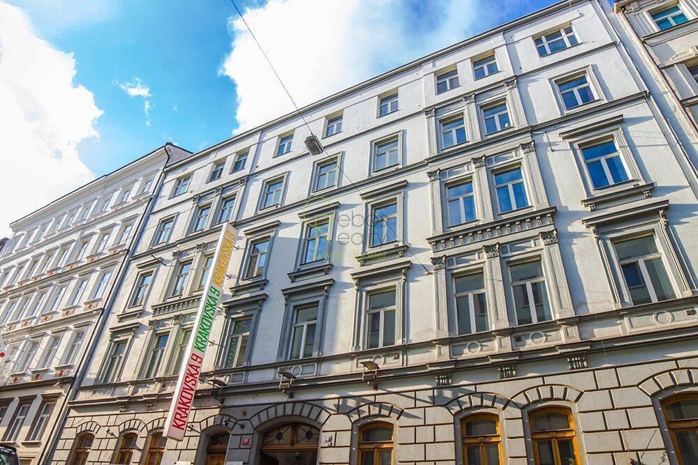 Pronájem kancelářské prostory 29,46m2 - Krakovská, Praha 1